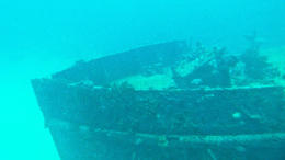 The wreck at 150ft depth , andywestmancoat - April 2011