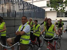 Photo of Paris Paris Super Saver: Day Bike Tour, Evening Bike Tour and Seine River Cruise Part of the night tour group