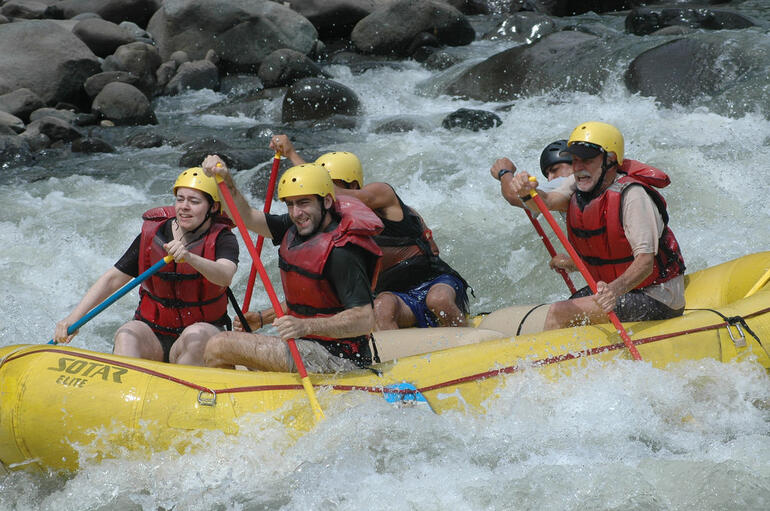 Rafting the Pacuare River - San Jose