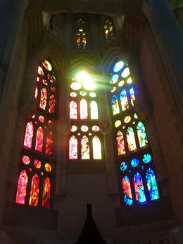 Photo of Barcelona Skip the Line: Barcelona Sagrada Familia Tour Sagrada glass