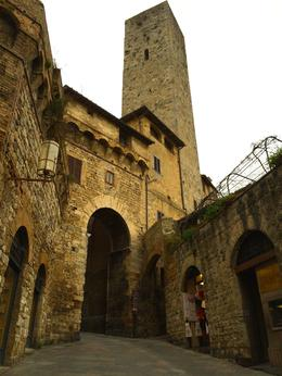 The streets of Sam GImignano , Kristine Renna - December 2014