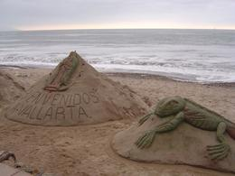 Photo of   Sand sculptures, El Malecon