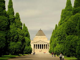 Photo of   The Shrine of Remembrance