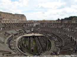 Photo of Rome Small-Group Ancient Rome and Colosseum Tour: Underground Chambers, Arena and Upper Tier View from the Top
