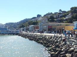 Another view of the shoreline in Sausalito , Jimmy S - October 2013