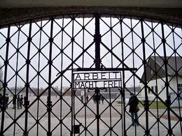 Photo of Munich Dachau Concentration Camp Memorial Small Group Tour from Munich Work Frees