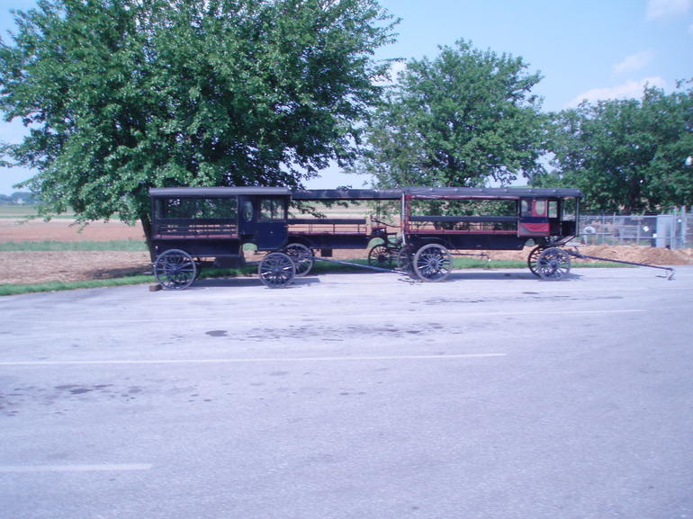 Amish Stretch Limo - New York City
