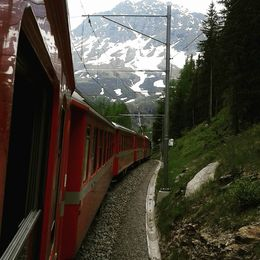 Bernina Express , Ligia A - July 2015