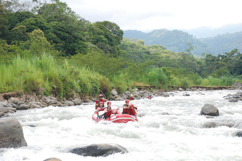 Costa Rica White Water - San Jose