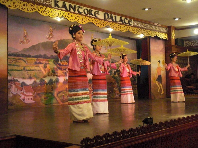 Cultural dance performance - Chiang Rai
