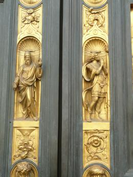Detail of the Baptistery Doors, Philippa Burne - July 2011