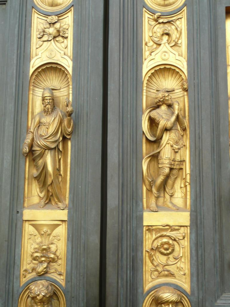 Detail of the Baptistery Doors - Florence