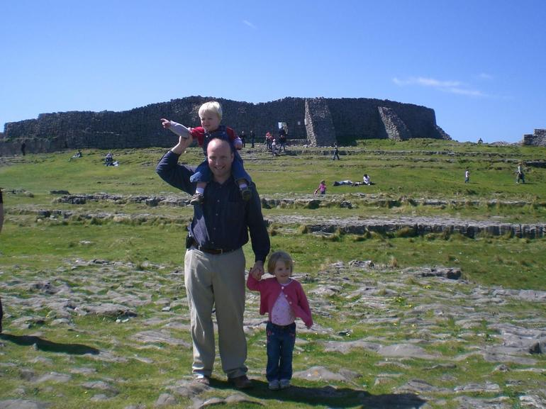 This is at Dun Aengus, a stone age fort, on the Aran Island of Inis Moor. Beautiful!