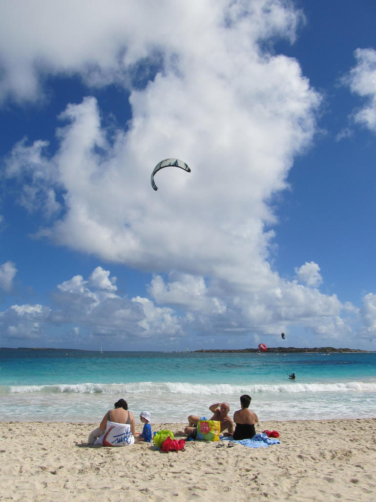 French side beach visit - St Maarten