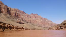 Photo of Las Vegas Ultimate Grand Canyon 4-in-1 Helicopter Tour Grand Canyon from the river boat trip