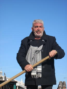 Our gondolier , Susan E - March 2012