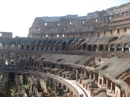 Photo of Rome Ancient Rome Half-Day Walking Tour late afternoon at the coloseum
