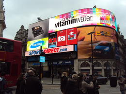 Piccadilly Circus 7/4/12. , Jackie R - April 2012