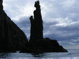 Photo of Hobart Full-Day Bruny Island Tour from Hobart Monument Rock