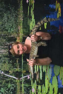 This was taken at Hartley's Crocodile Adventures. What a terrific time and highly recommend to all. , Janine T - November 2014