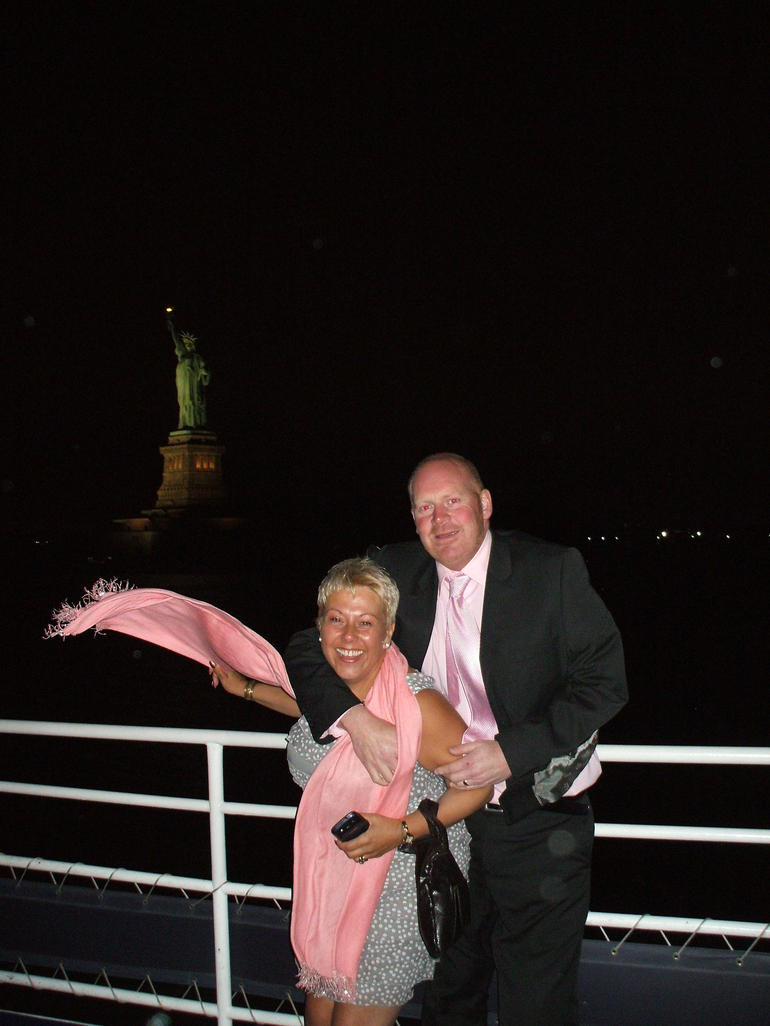 My surprise birthday trip aboard the New York dinner cruise - New York City