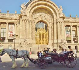 Photo of Paris Romantic Horse and Carriage Ride through Paris Paris by Horse Drawn Carriage