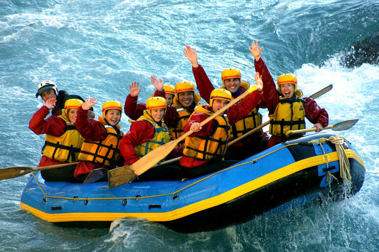 Queenstown Rafting, Kawarau River - Queenstown