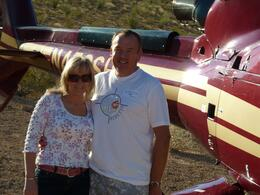 Photo of Las Vegas Grand Canyon All American Helicopter Tour Ready for our return.