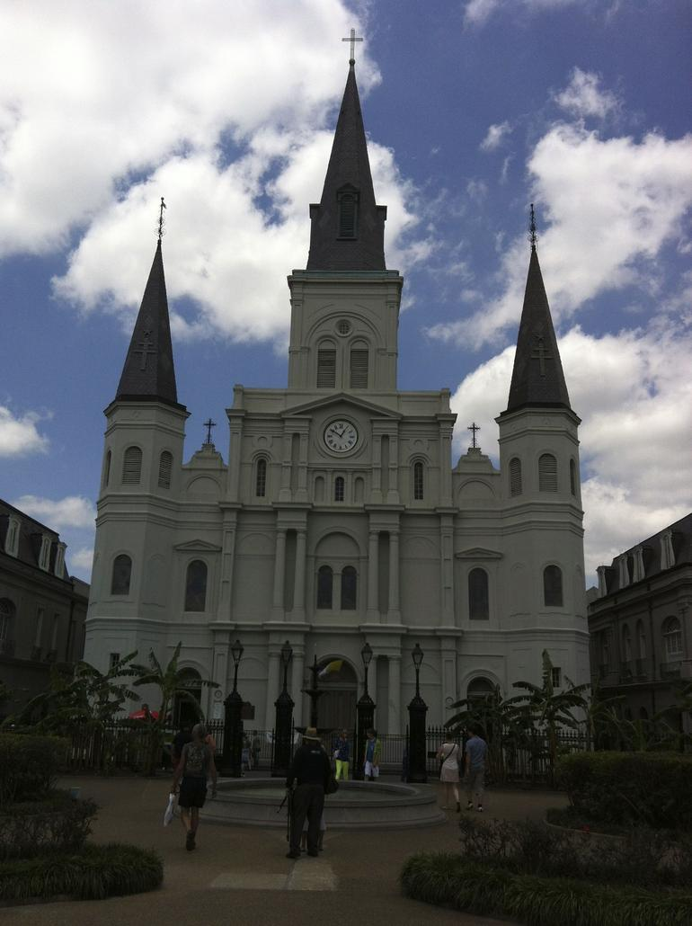 St. Louis Cathedral - Jefferson Square - New Orleans