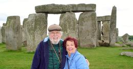 The Cash's at Stonehenge , Elaine P - June 2013