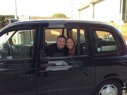 Photo of London Private Tour: Black Taxi Tour of London This us in that cute car after the tour