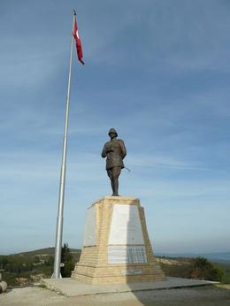 Memorial to the Turkish soldiers killed at Gallipoli. - September 2008