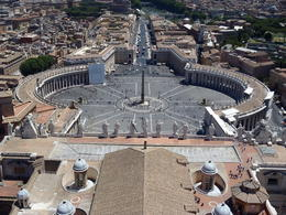 Photo of   View from the Top of the St Peter's Basilica
