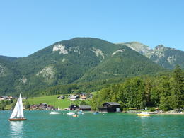 Views from the boat ride on Wolfgangsee , Rachel C - August 2011