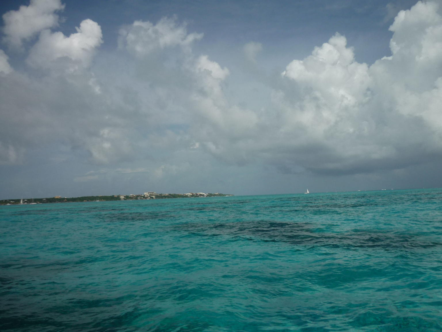 Sailing to Isla Mujeres from Cancun