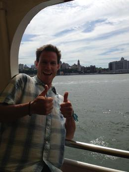 Ryan likes the New York skyline - June 2013