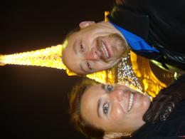 After the boat cruise in front of the Eiffel Tower., Keith B - October 2010