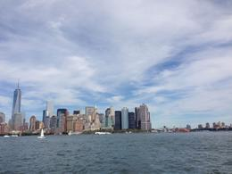 An impressive skyline from afar, Trina Tron - September 2014
