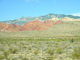 There is a large variety of different rock formations and mountains around Red Rock Canyon., Raymond A S - July 2009