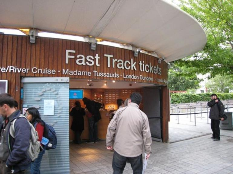 Fast Track tickets - London