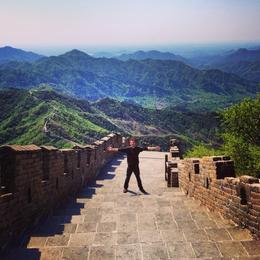 Photo of Beijing Great Wall of China at Mutianyu Full Day Tour including Lunch from Beijing High up on the Great Wall at Mutianyu