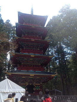 Five storied pagoda , Odalys R - January 2014