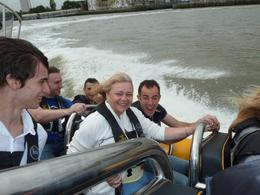 The team from the Escape enjoying the speedy bits. , Jacqui S - August 2011