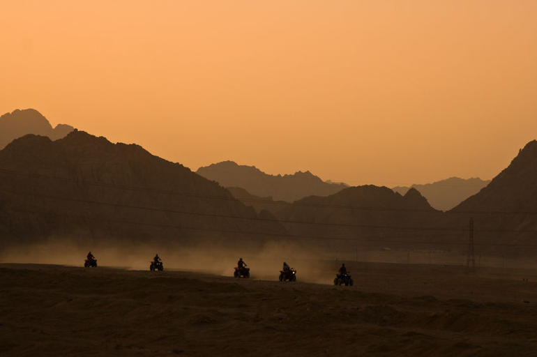Quad biking desert safari in Sharm el Sheikh, Egypt - Sharm el Sheikh