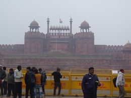 Closed and Barricaded Red Fort. , Stephen D - March 2015