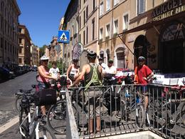 Our guide took us down little alleys and through areas we'd never see on a bus. Other than dodging crowds it was not a physically demanding tour so as long as you can ride a bike don't be afraid to ... , Yvette B - August 2013