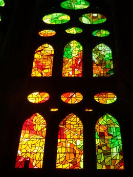 Photo of Barcelona Skip the Line: Barcelona Sagrada Familia Tour Sagrada glass 2