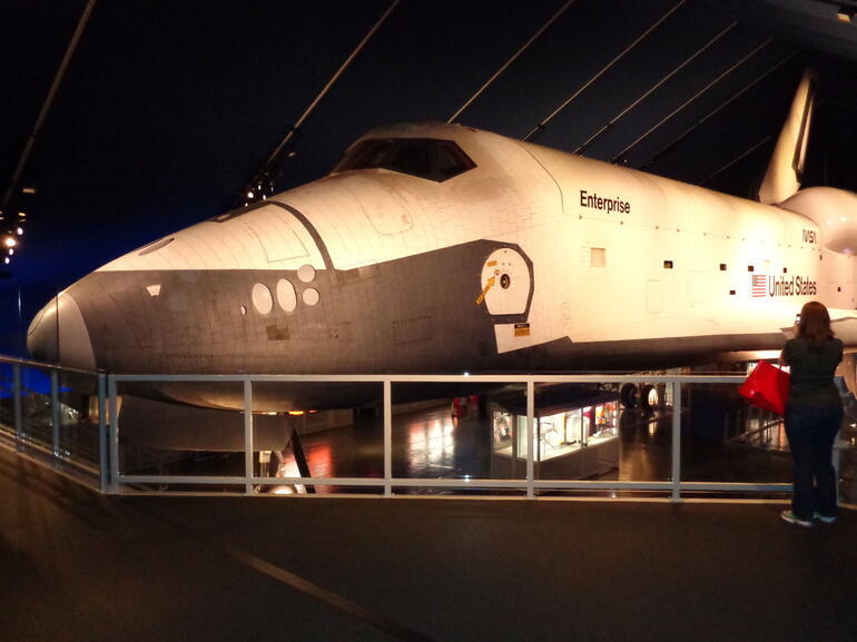 Space Shuttle Enterprise - New York City