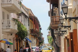 Walking down the street in Cartagena., Bandit - September 2012