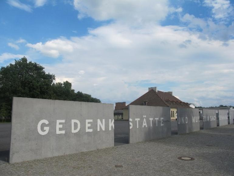 The entrance to the camp - Berlin